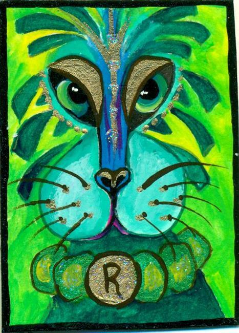 Art: # 31 Cat People by Artist Ke Robinson