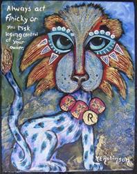 Art: The Rob Gallery CATs!  #776 by Artist Ke Robinson
