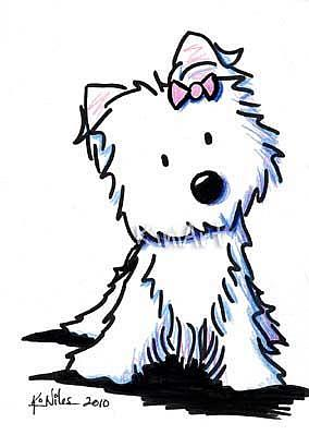 Gallery For > Face Clipart Westies
