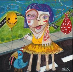 Art: go follow your dreams by Artist Alexis Covato