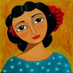 Art: SWEET FRIDA by Artist Cindy Bontempo (GOSHRIN)
