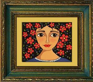 Detail Image for art Frida Flowers
