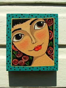 Detail Image for art Frida's Face