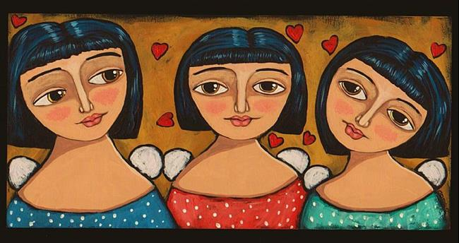 Art: Little Angels by Artist Cindy Bontempo (GOSHRIN)