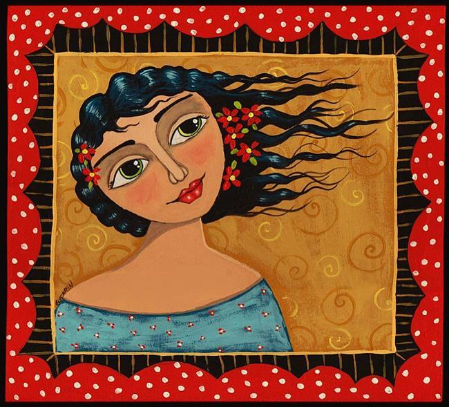 Art: Golden Day by Artist Cindy Bontempo (GOSHRIN)