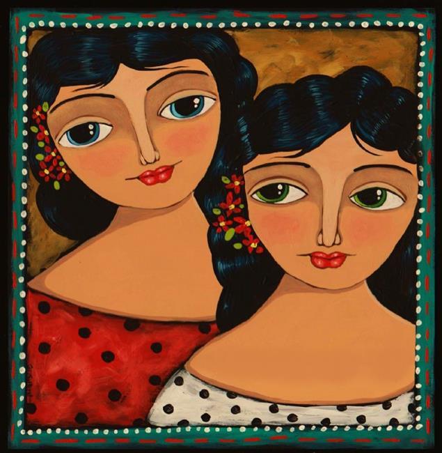 Art: Best Friends by Artist Cindy Bontempo (GOSHRIN)