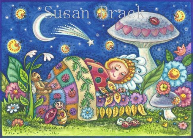 Art: LADYBUG DREAMS by Artist Susan Brack