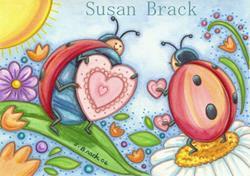 Art: LOVE BUGS by Artist Susan Brack