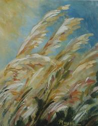 Art: WHEAT  by Artist Gail Meyer