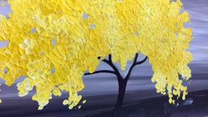 Detail Image for art MY YELLOW TREE