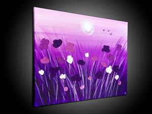 Detail Image for art PURPLE POPPIES