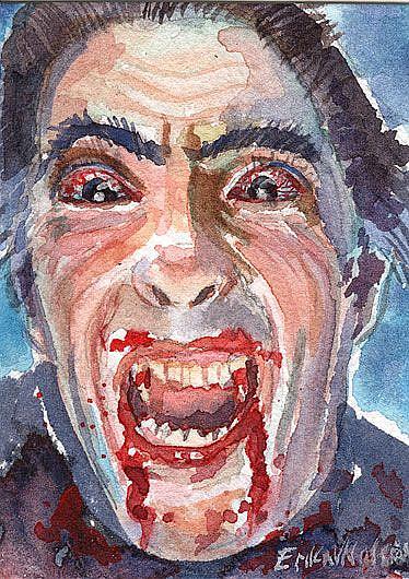 Art: Vampire Joy by Artist Erika Nelson