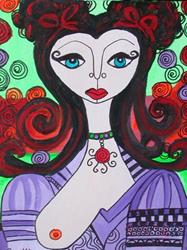 Art: BrookeE Swap Portrait #1 by Artist sara molano