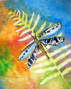 Detail Image for art Dragonfly and Butterfly of Deborah Jordan