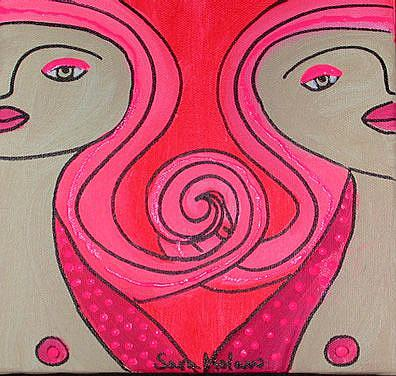 Art: Gemini by Artist sara molano