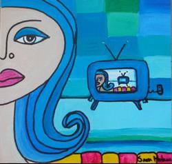 Art: L'Televisivo by Artist sara molano