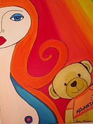 Art: albanta by Artist sara molano
