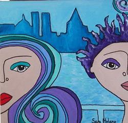 Art: NY by Artist sara molano