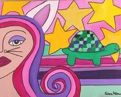 Art: L'Fabule by Artist sara molano