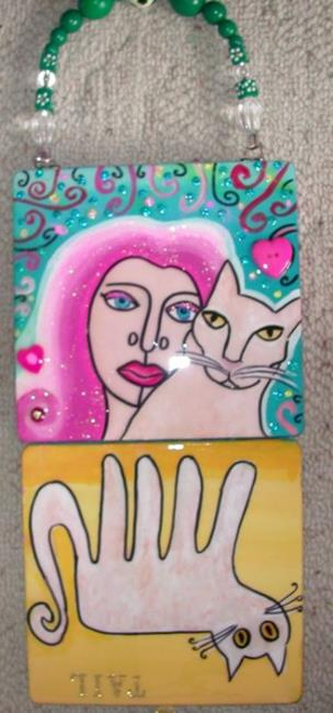 Art: Tail Aimee's Cat by Artist sara molano