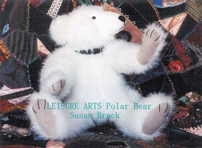 Art: LEISURE ARTS POLAR BEAR by Artist Susan Brack