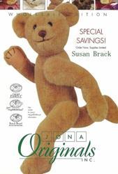 Art: Jona Originals BRACK BEARS Cover  Articulated Teddy by Artist Susan Brack