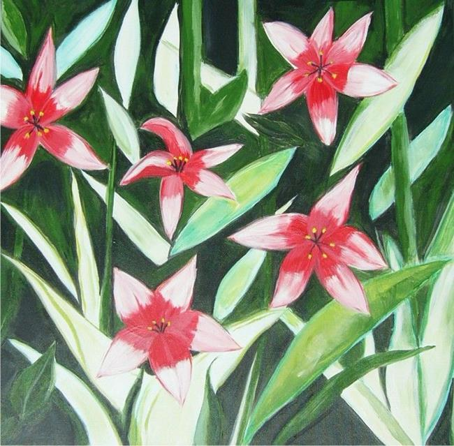Art: LILLIES FOR EBSQ SHOW by Artist Eridanus Sellen