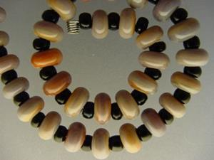 Detail Image for art BG Morrow LAMPWORK Handmade Glass Art 30 Beads D243 SRA