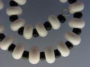 Detail Image for art BG Morrow LAMPWORK Handmade Glass Art 30 Beads D273 SRA