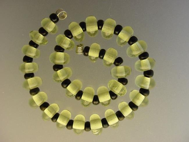Art: BG Morrow LAMPWORK Handmade Glass Art 30 Beads D204 SRA   by Artist Bonnie G Morrow