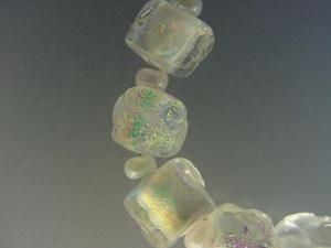 Detail Image for art BG Morrow LAMPWORK Handmade Glass Art 9 Beads D93 SRA