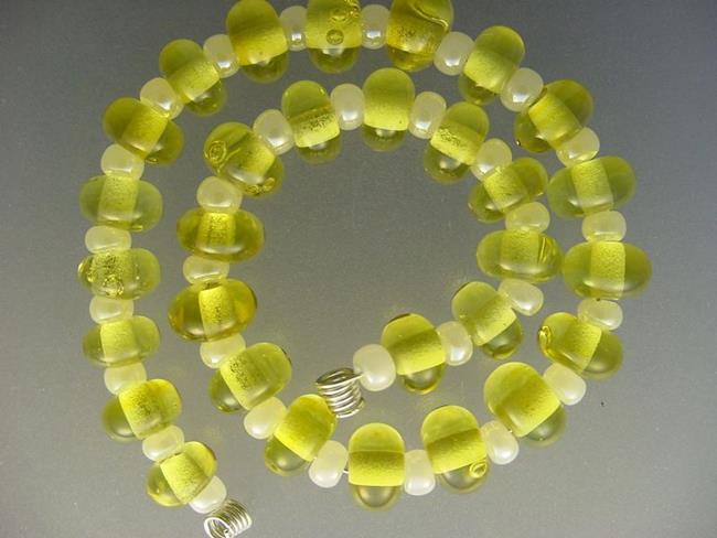 Art: BG Morrow LAMPWORK Handmade Glass Art 30 Beads D52 SRA by Artist Bonnie G Morrow