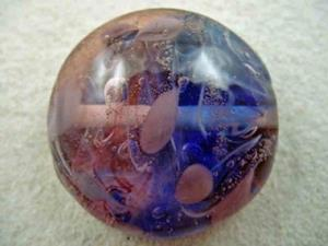 Detail Image for art Ambrosia Glass *SPRING BREEZE* Handmade Lampwork FOCAL Bead - SOLD