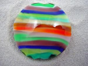 Detail Image for art Ambrosia *STACKED 1* Lampwork FOCAL Bead Handmade - SOLD