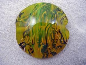 Detail Image for art Ambrosia *THE LIFE WITHIN 8* Lampwork FOCAL Bead Handmade - SOLD