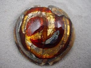 Detail Image for art Ambrosia *WHIRLPOOL 11* Lampwork FOCAL Bead Handmade - SOLD