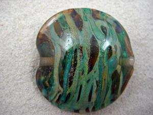 Detail Image for art Ambrosia *THE LIFE WITHIN 10* Lampwork FOCAL Bead Handmade - SOLD