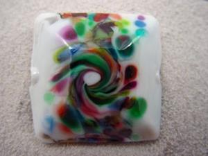 Detail Image for art Ambrosia *3 FOCALS G* Lampwork 3 FOCAL Beads Handmade - SOLD