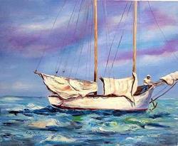 Art: Sailing - NFS by Artist Ulrike 'Ricky' Martin