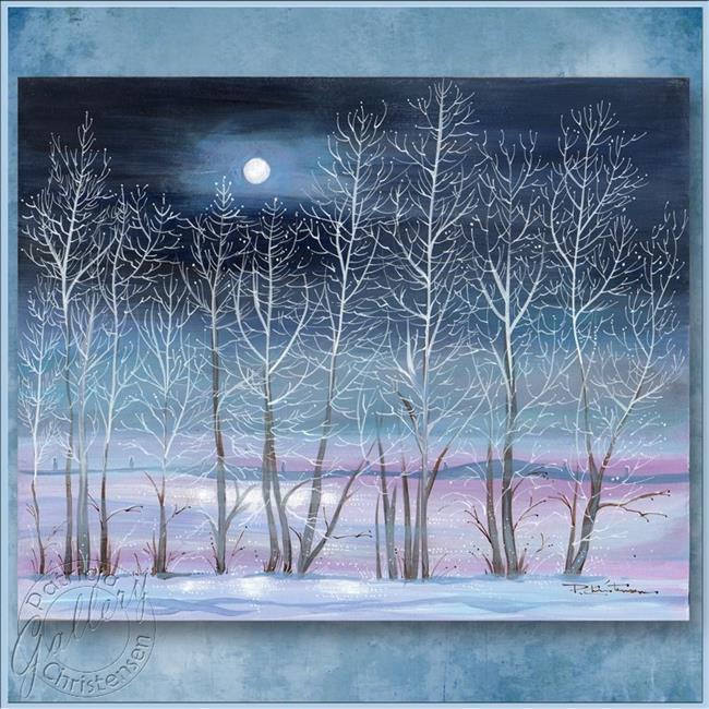 Daily Art Of The Day Sunday January 05 2014 Snow Moon