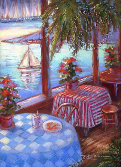 Art: Fish 'n Chips by Artist Patricia  Lee Christensen