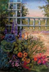 Art: Botanical Garden ~ Ogden, Utah by Artist Patricia  Lee Christensen