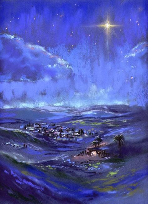 Art: Star of Bethlehem ~ Peace on Earth by Artist Patricia  Lee Christensen