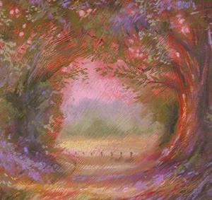 Detail Image for art Auburn Riverwalk ~ Autumn