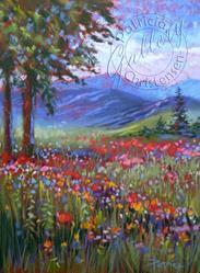 Art: Wild Poppies by Artist Patricia  Lee Christensen