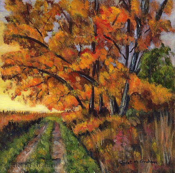 Art: Autumn's Splendour by Artist Janet M Graham