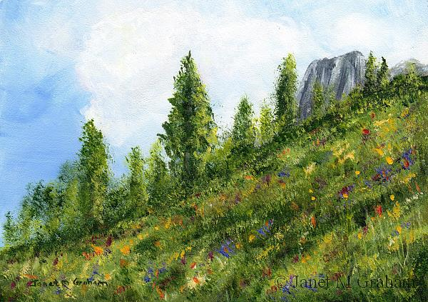 Art: Spring by Artist Janet M Graham