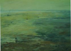 Art: Low Tide (Leigh-on-Sea,Essex) by Artist John Wright