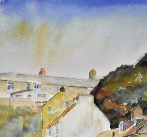 Detail Image for art Cow Bar Bank, Staithes