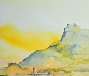 Detail Image for art Lindisfarne Castle